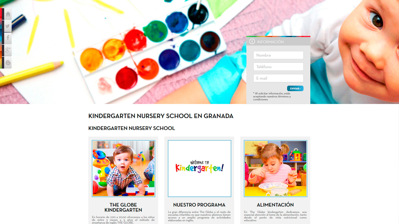 Kindergarten en Academia the globe