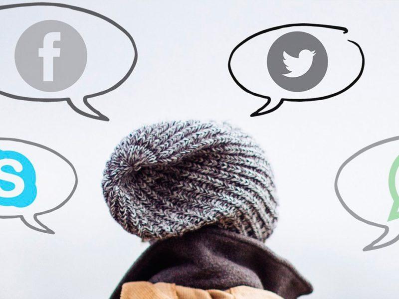 Abandona las redes sociales