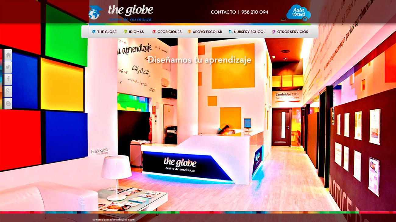 the globe home