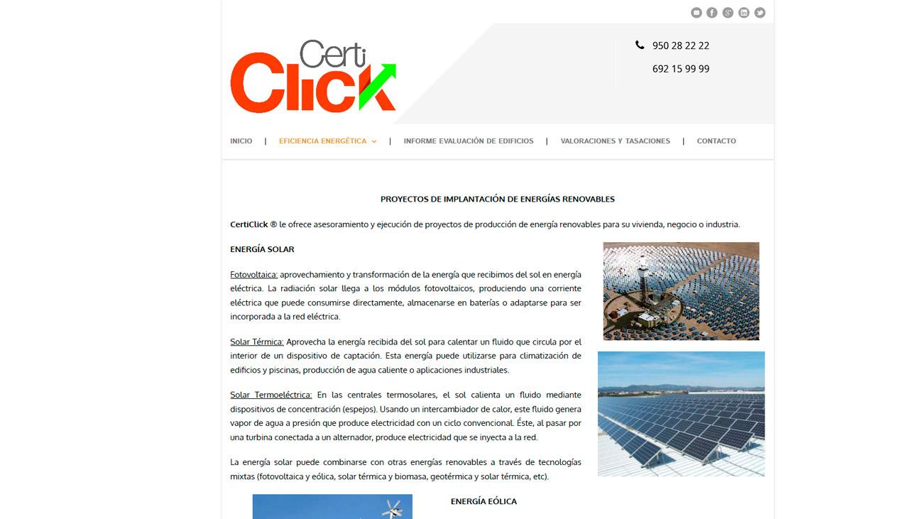 certiclick energias renovables