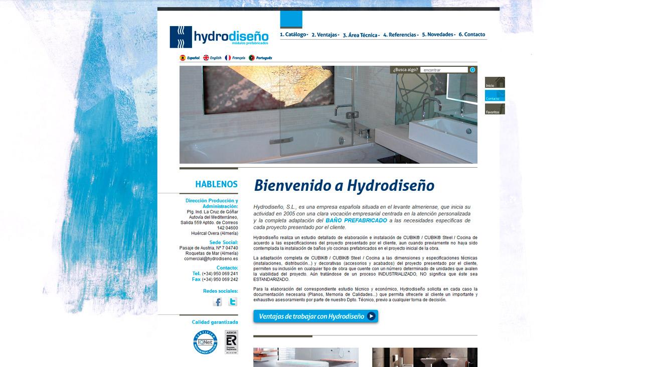 hydrodiseño home